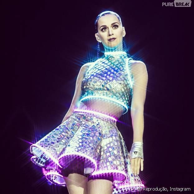 Katy Perry começou no gospel e foi parar na música pop