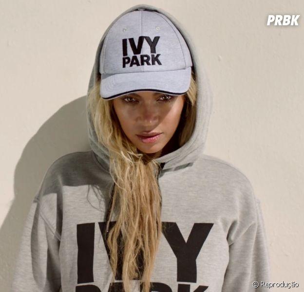 """Beyoncé lançou a linha de roupas """"Ivy Park"""" em parceria com a TopShop"""