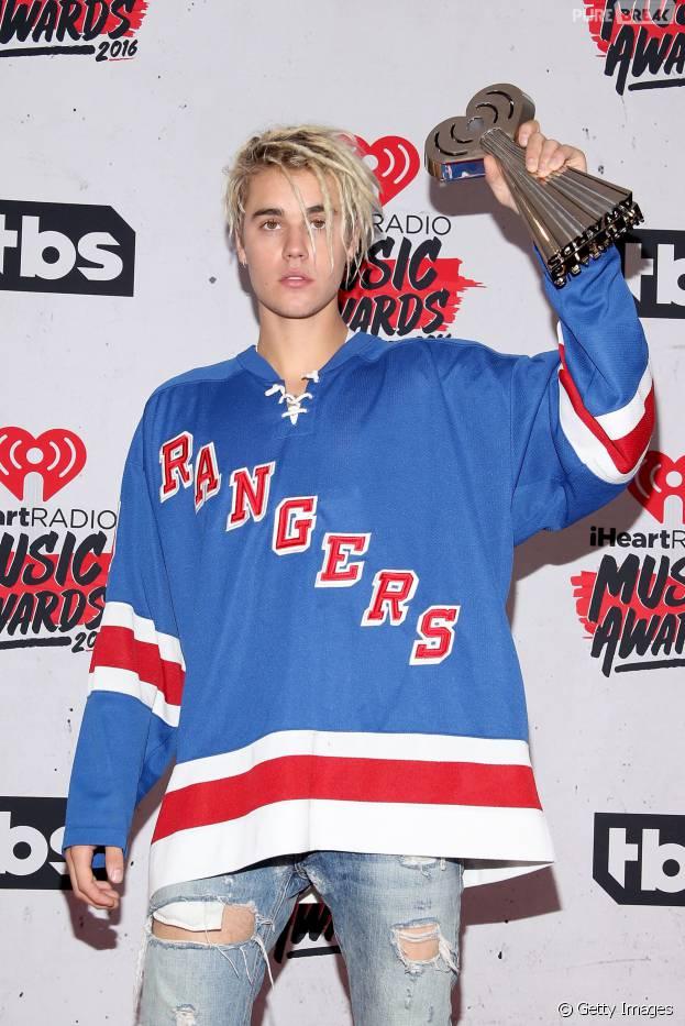 Com três prêmios, Justin Bieber é o maior vencedor do iHeartRadio Music Awards 2016