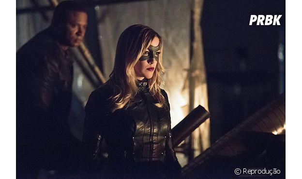 """Em """"Arrow"""": Laurel Lance (Katie Cassidy) é assassinada por Damien Darhk e Oliver (Stephen Amell) promete vingança!"""
