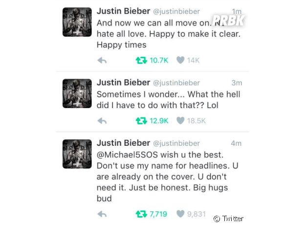 Justin Bieber 5 Seconds of Summer
