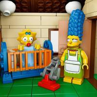 """Série """"Os Simpsons"""" e """"Lego"""" juntos! Canal FOX anuncia parceria para TV"""