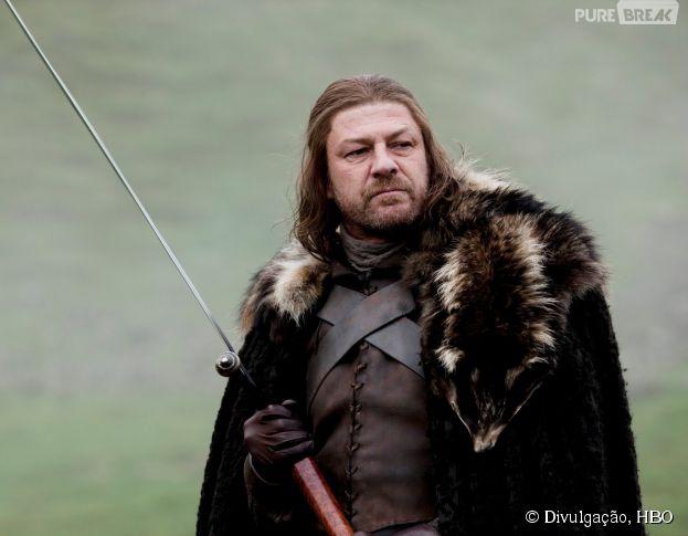 """Ned Stark (Sean Bean) morreu na 1ª temporada de """"Game of Thrones"""" e ainda é lembrado. Veja mais personagens inesquecíveis!"""
