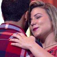 """Do """"BBB16"""", Maria Claudia e Matheus falam sobre namoro no """"Encontro com Fátima Bernardes"""""""