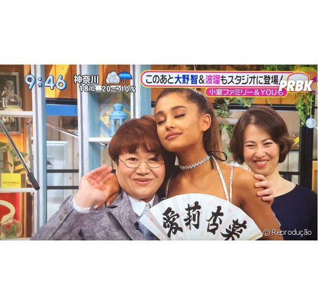 """Ariana canta """"Dangerous Woman"""" em programa de TV do Japão"""