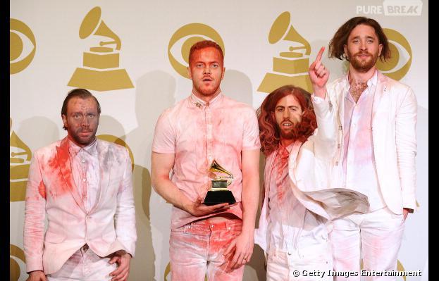 """Imagine Dragons e o prêmio de """"Melhor apresentação de Rock"""" no Grammy 2014"""