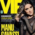 """Olha ela! Manu Gavassi, do hit """"Camiseta"""", é capa da revista VIP de maio"""