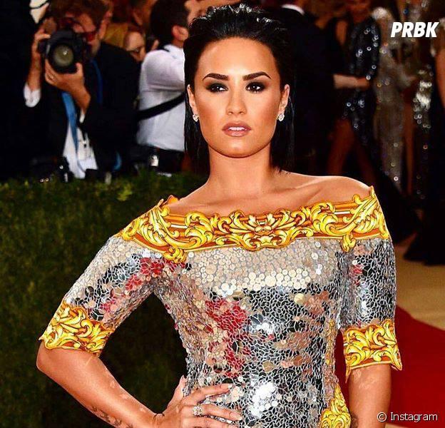 No Instagram, Demi Lovato faz brincadeira com Nicki Minaj sobre o MET Gala 2016