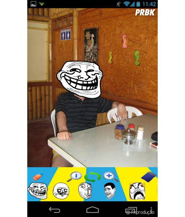Se você quer zoar as fotos dos seus amigos, esse é o app ideal!