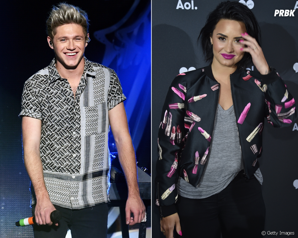 O crush de Niall Horan, do One Direction, por Demi Lovato não é segredo pra ninguém