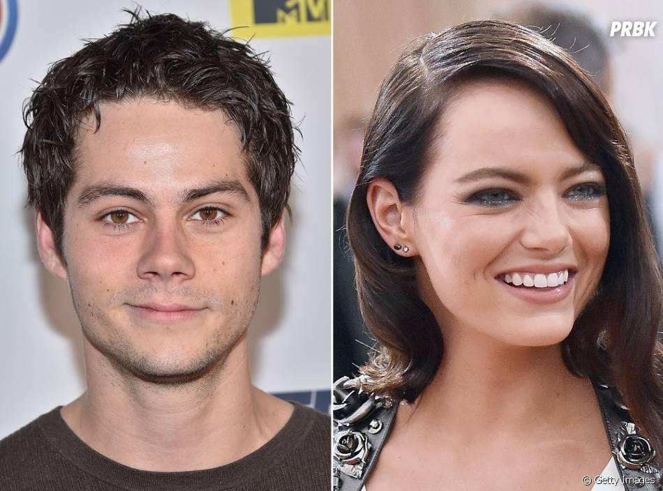 """Astro de """"Teen Wolf"""", Dylan O'Brien não esconde que Emma Stone está na sua lista de crushes"""