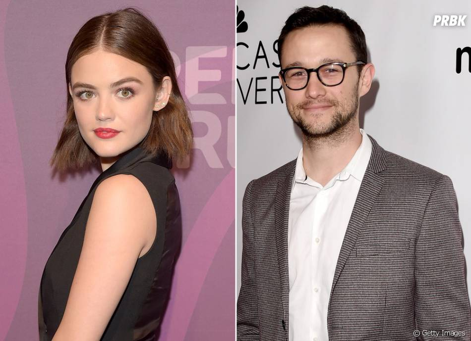 "O crush de Lucy Hale, de ""Pretty Little Liars"", é o ator Joseph Gordon-Levitt"