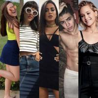Maisa Silva, Maju Trindade, Anitta, Biel, Jennifer Lawrence e mais: descubra o crush dos famosos!