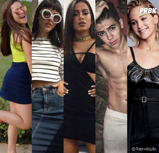 Descubra o crush destes e de outros famosos!