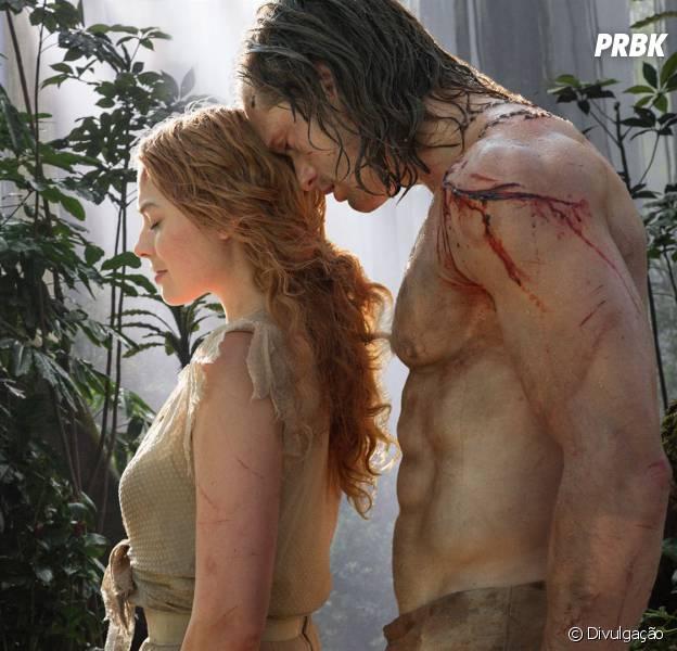 """Margot Robbie interpreta a mocinha Jane, em """"A Lenda de Tarzan"""""""