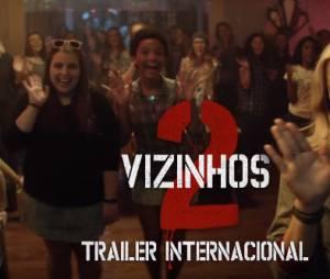 """Assista ao trailer de """"Vizinhos 2"""", com Chloë Moretz, Zac Efron e Selena Gomez no elenco"""