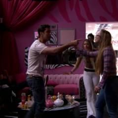 """Barraco no """"BBB14"""": Aline e Marcelo discutem e sister joga bebida nele"""