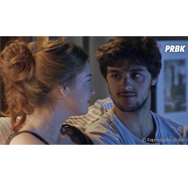 "Em ""Totalmente Demais"", Jonatas (Felipe Simas) e Eliza (Marina Ruy Barbosa) terminam juntos!"