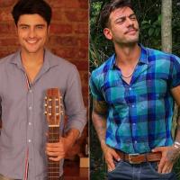"""Guilherme Leicam e Lucas Lucco, de """"Malhação"""", vão lançar parceria musical em breve!"""