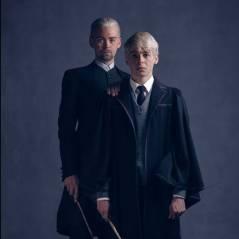 """Novo """"Harry Potter"""": Draco Malfoy e seu filho Escórpio aparecem em nova imagem da peça"""