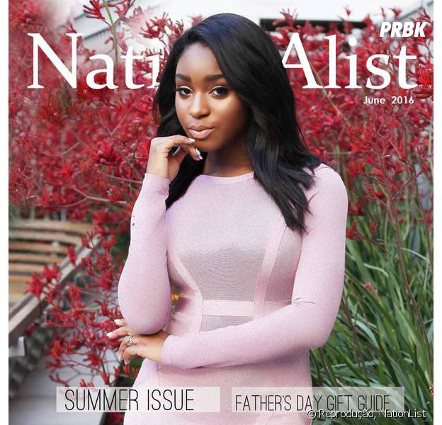 Destaque no Fifth Harmony, Normani Kordei é capa da revista NationList
