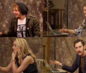 """De """"Harry Potter"""": atores fazem teste do Chapéu Seletor para descobrir a qual casa pertenceriam no mundo mágico"""
