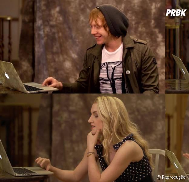 "De ""Harry Potter"": atores descobrem qual casa da Escola de Magia de Hogwarts eles pertencem!"