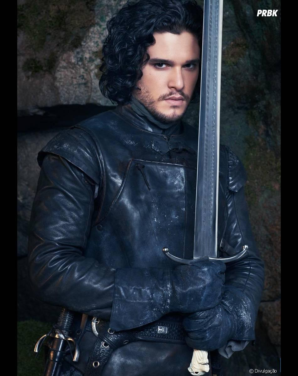 "Kit Harington vive Jon Snow na trama de ""Game of Thrones""""Game of Thrones"""