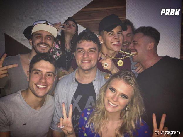 Biel sempre está nas melhores festas com as melhores pessoas!