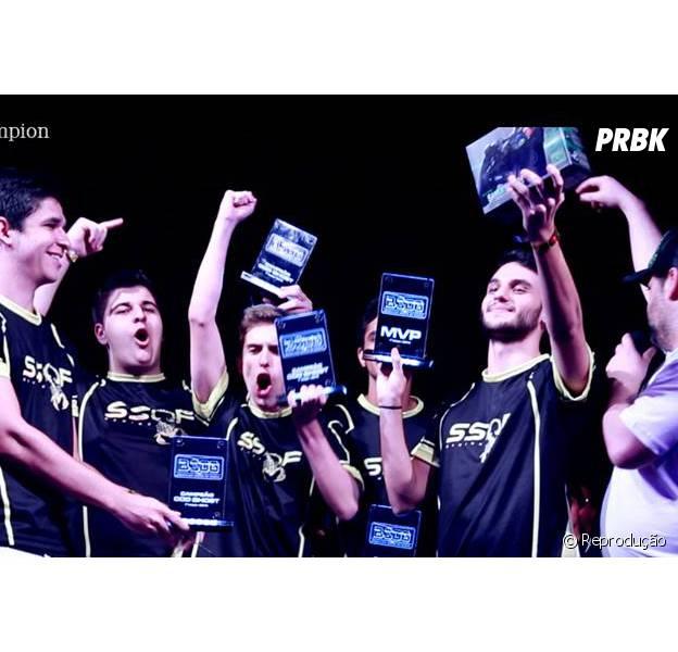 O time SSOF Gaming , vencedor de tantos outros campeonatos, foi desclassificado.