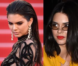 Kendall Jenner também é outra que abandonou os fios longos