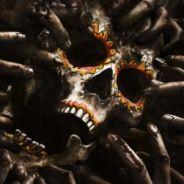 """Em """"Fear The Walking Dead"""": na 2ª temporada, zumbis atacam caveira em novo pôster"""