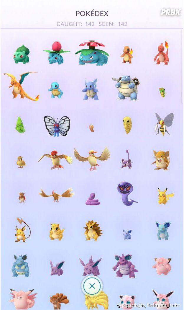 """De 'Pokémon Go"""": americano consegue capturar todos os monstrinhos disponíveis nos Estados Unidos"""