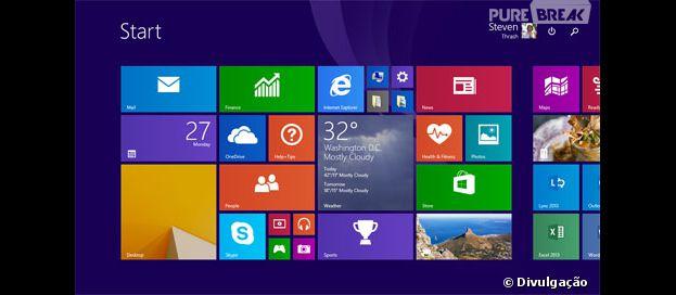 Novidades na atualização 8.1 do Windows.
