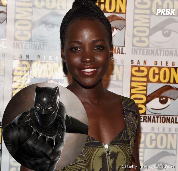 """Lupita Nyong'o está confirmadíssima em """"Pantera Negra"""""""