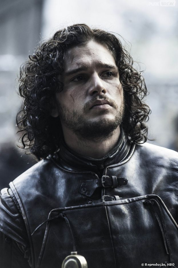 "Jon Snow (Kit Harington) de ""Game of Thrones"""