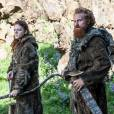 "Ygritte (Rose Leslie) e Tormund (Kristofer Hivju), de ""Game of Thrones"""