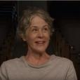 """Em """"The Walking Dead"""", Carol encontra abrigo e aparece com machucados curados"""