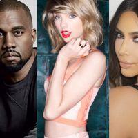 """Kanye West provoca Taylor Swift em show de Drake: """"Estou tão feliz por minha esposa ter Snapchat!"""""""