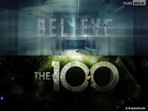 """Confira as séries que estão sendo lançadas! """"Believe"""" e """"The 100"""" são os destaques do mês!"""