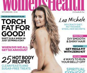 Lea Michele posa pelada e mostra nova tatuagem em homenagem a Cory Monteith