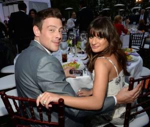 """O romance entre Lea Michele e Cory Monteith foi interrompido em 2013, após o falecimento do ator de """"Glee"""""""