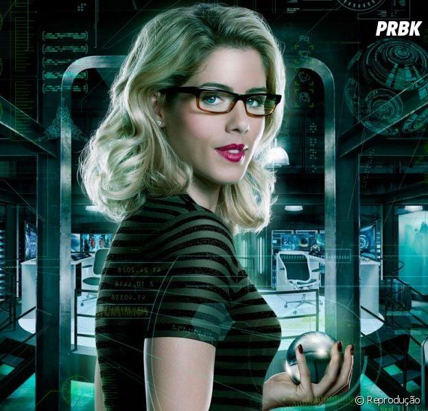 """Em """"Arrow"""": na 5ª temporada, Felicity (Emily Bett Rickards) deve ter um novo amor!"""