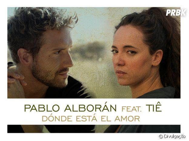 """Pablo Alborán e Tiê lançam música para a trilha sonora da novela """"Haja Coração"""""""