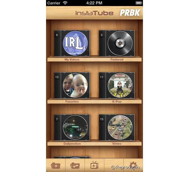 Crie playlists para facilitar o acesso aos vídoes