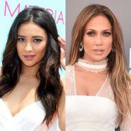"""Shay Mitchell, de """"Pretty Little Liars"""", revela que Jennifer Lopez foi a inspiração de seu nome"""