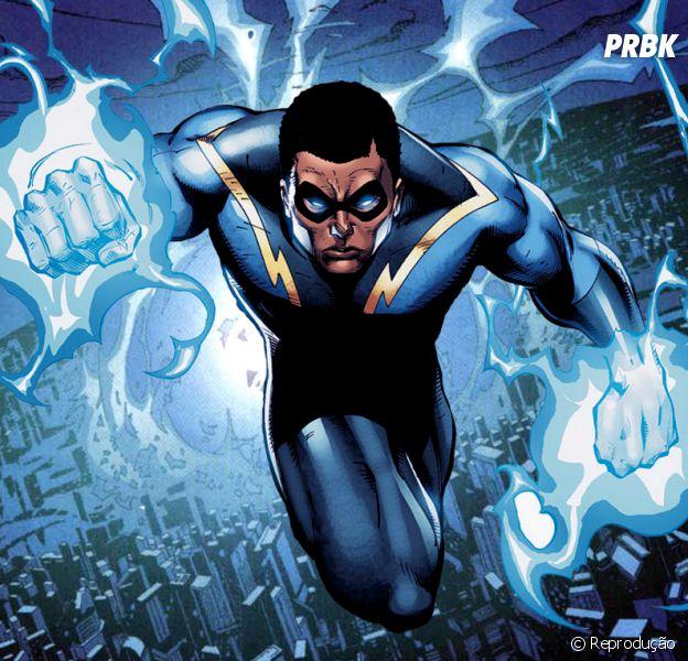 """Da """"DC Comics"""": Raio Negro pode ser novo herói a ganhar série na TV"""