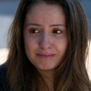 """Novela """"Malhação"""": Nanda (Amanda de Godoi) chora lembrando de Filipe e Rômulo a consola!"""