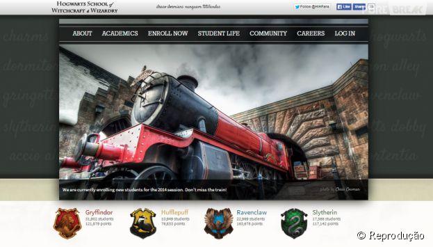 """""""Hogwarts is Here"""" um site para você viver as experiências de """"Harry Potter"""""""