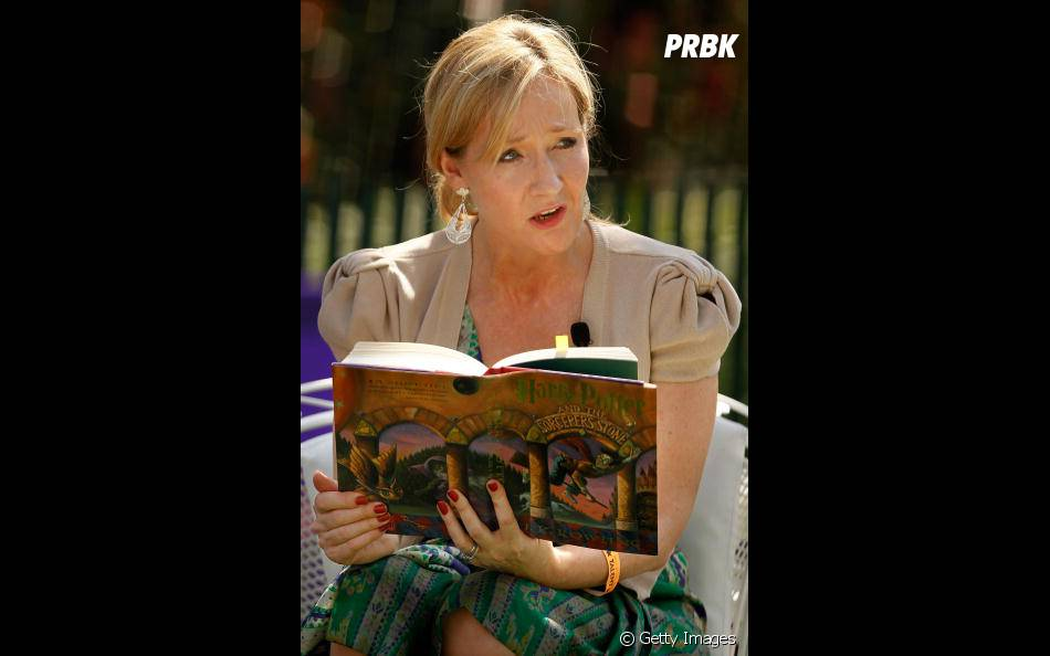 """J. K. Rowling, a criadora do mundo mágico de """"Harry Potter"""""""